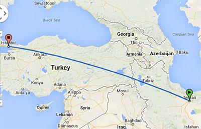 خرید بلیط هواپیما تهران استانبول