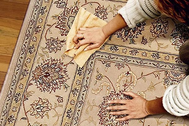 پاک کردن انواع لکه های فرش
