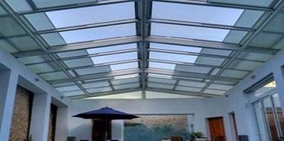 سقف حیاط خلوت سایه ساز