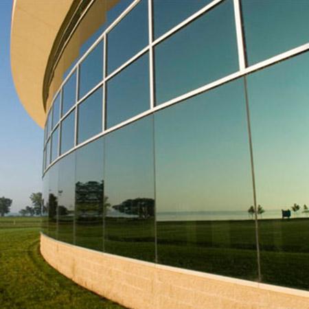 نمای شیشه ای با پنجره دوجداره