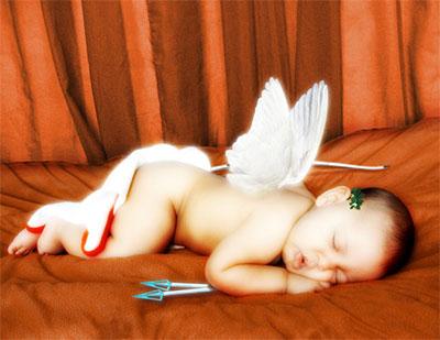 فرشته ی زیبا