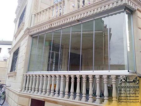 شیشه بالکن- شیشه تراس چیست؟