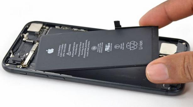 تعویض باتری موبایل